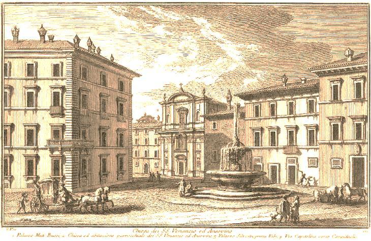 十八世紀的Google街景地圖:朱塞佩•瓦西的羅馬壯遊
