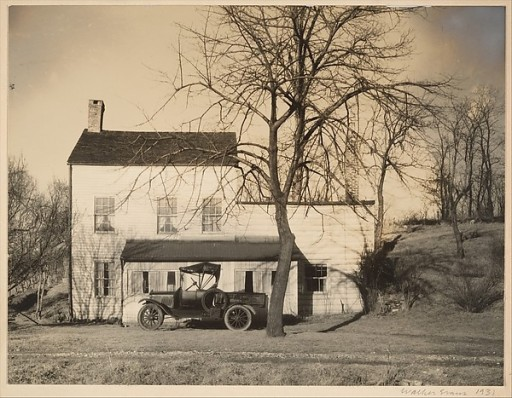 Walker Evans (American, St. Louis, Missouri 1903–1975 New Haven, Connecticut) Westchester, New York, Farmhouse, 1931 Gelatin silver print; 16.1 x 21.1 cm. (6 5/16 x 8 5/16 in.) The Metropolitan Museum of Art, New York, Gift of Mireille and James I. Levy, 1994 (1994.544.2) http://www.metmuseum.org/Collections/search-the-collections/267111
