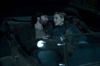 Adaline and Ellis in the car