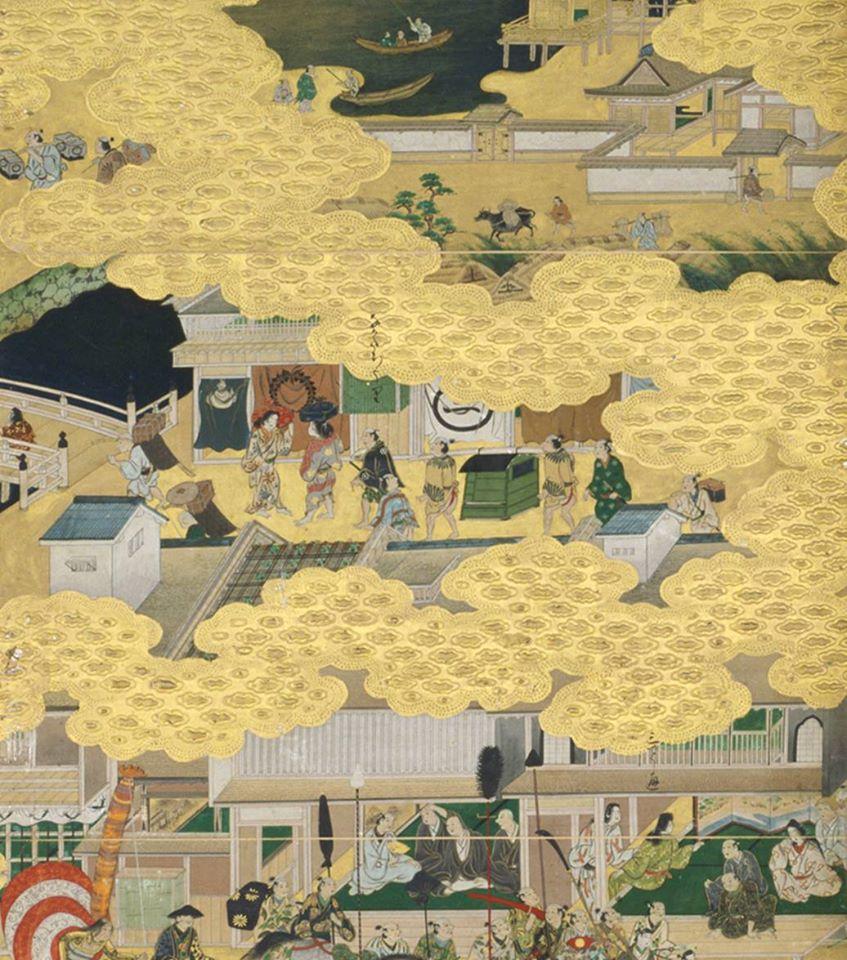 根津美術館「初次的古美術鑑賞──繪畫的技法與表現」展