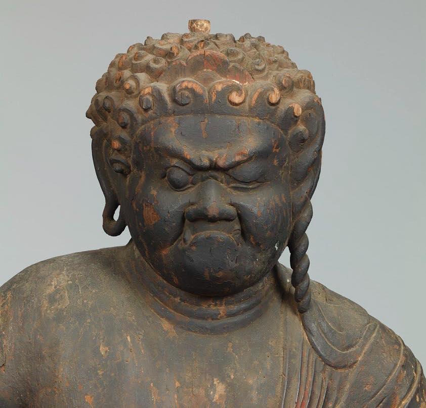 「日本美術之最」展裡的個性派雕塑