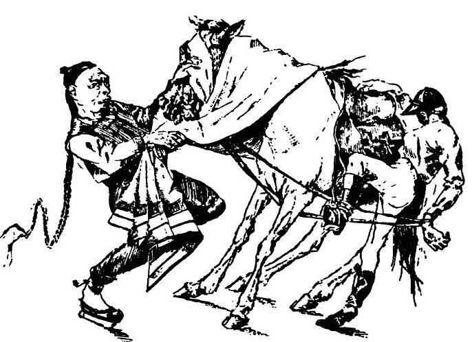 跑馬?馬跑?十九世紀中西畫家對上海賽馬的異趣描繪