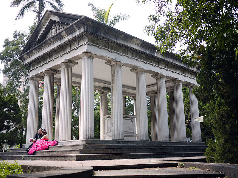 西化與品味:古希臘建築元素在台灣