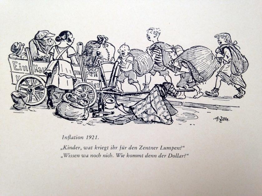 圖四《通貨膨脹1921》