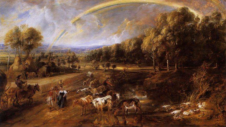 西方風景都在畫什麼?十七、十八世紀篇