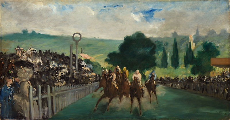 2-Manet The Races at Longchamp