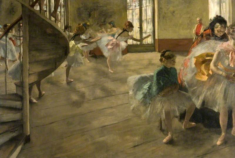 Degas, Edgar, 1834-1917; The Rehearsal
