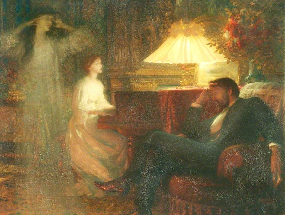 Dicksee, Frank, 1853-1928; A Reverie