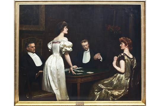 倪john collier the cheat