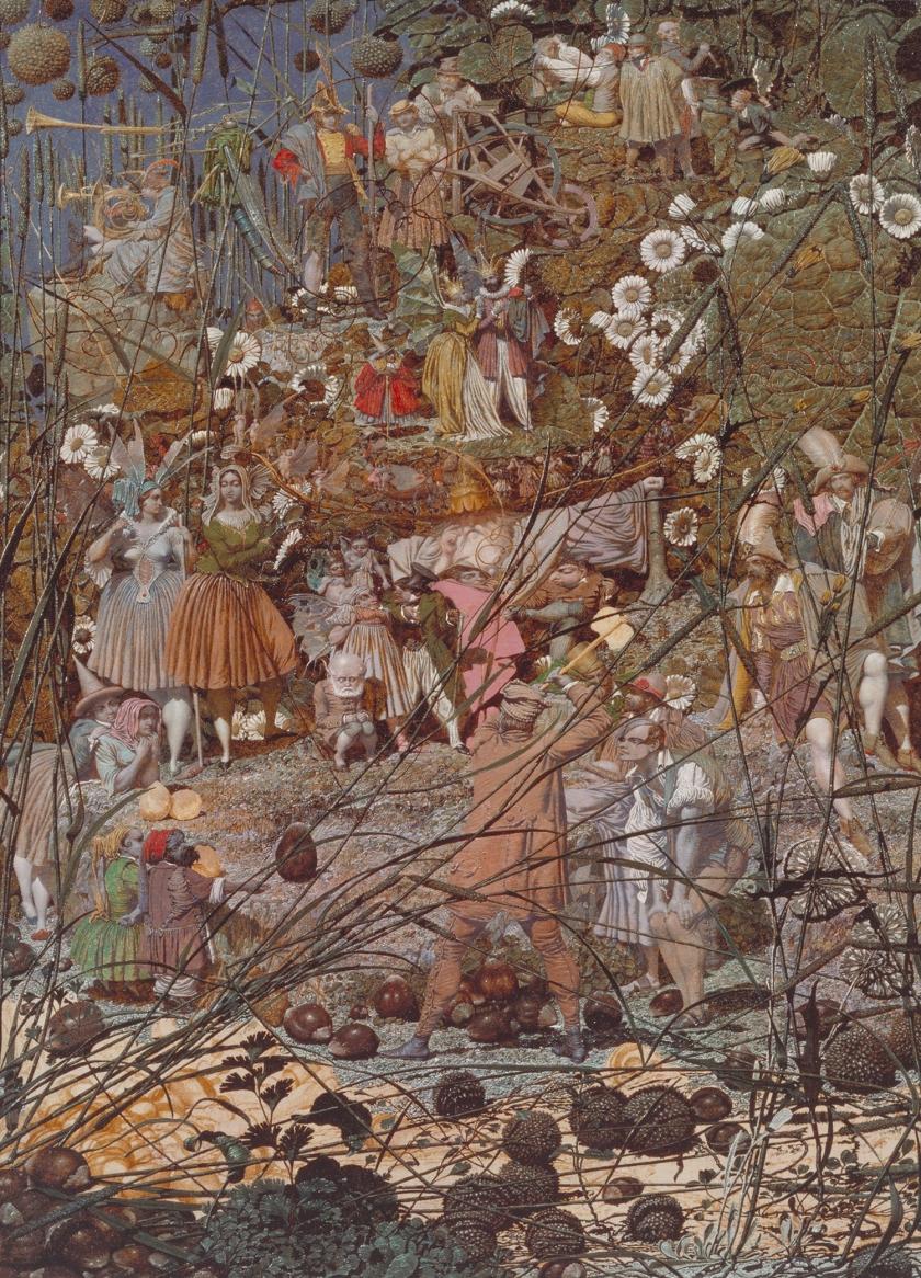 【圖7】Richard Dadd, The Fairy Feller_s Master-Stroke, 1855 – 1864, Oil on canvas, 54×39.4cm, Tate Gallery, London
