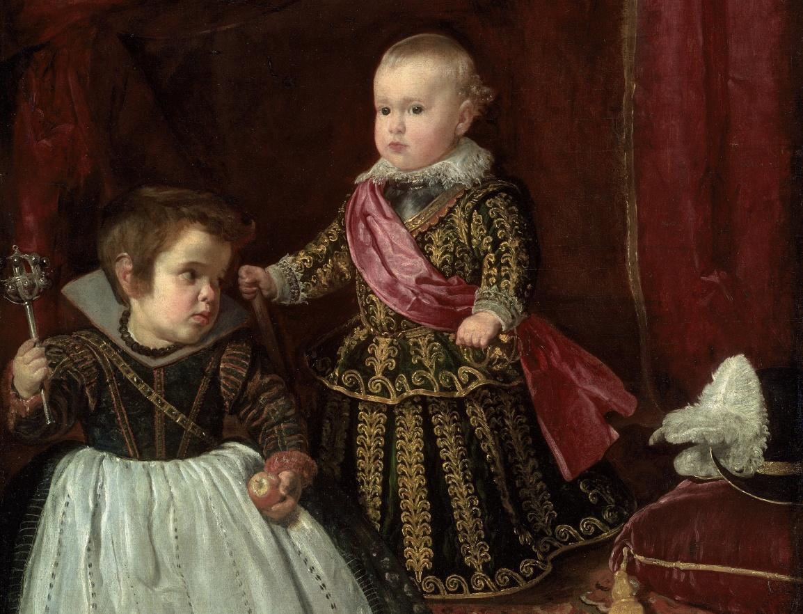 十七世紀貴族肖像畫中的侏儒圖像,到底暗示些什麼?