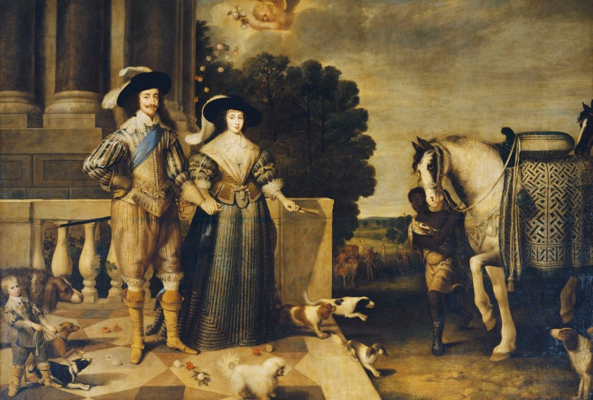 Charles I and Henrietta Maria Departing for the Chase