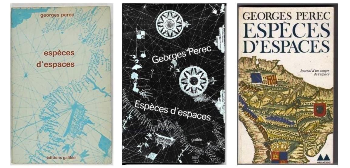 一本書的空間布局--培瑞克的《空間物種》