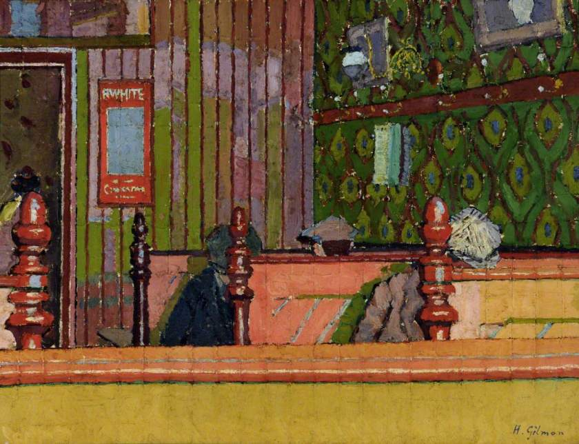 Gilman, Harold, 1876-1919; Eating House