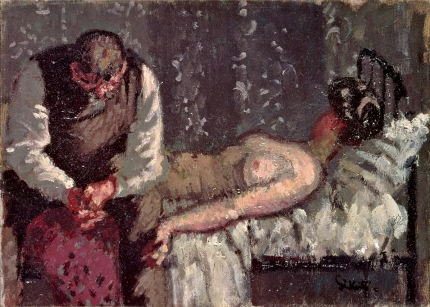 sickert, the camden town murder, 1908
