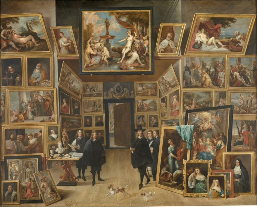 The Archduke Leopold William in his Picture Gallery in Brussels