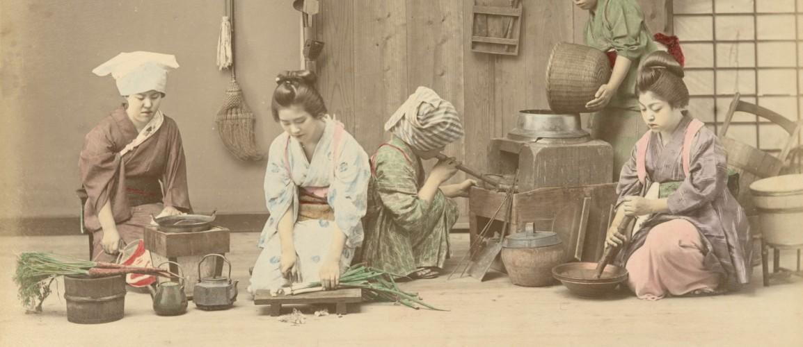 宜室宜家: 從日本手工上色蛋白照片探女性美、性別角色和文化霸權的界線