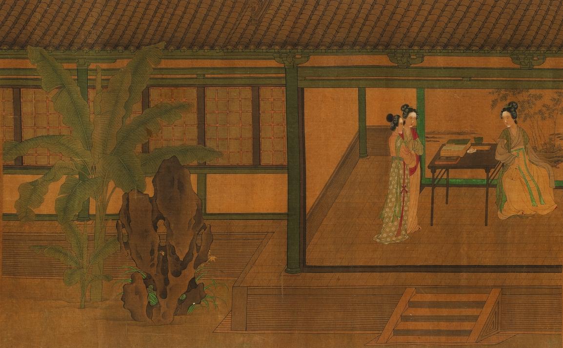 香港中文大學文物館「北山汲古:中國繪畫」展(一):明清女性題材繪畫與女畫家