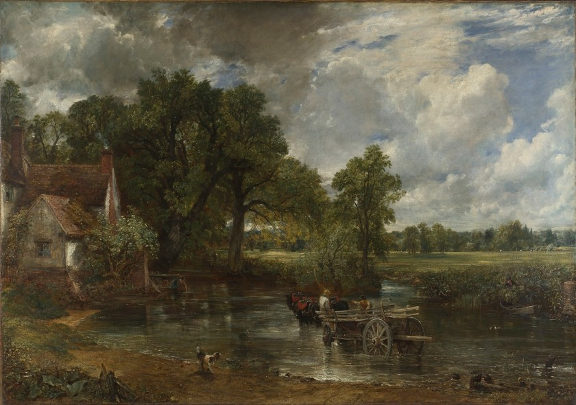 【圖3】John Constable, The Hay-Wain