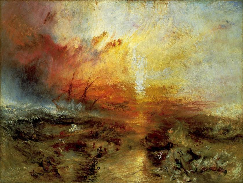 【圖4】J.M.W. Turner, Slave Ship