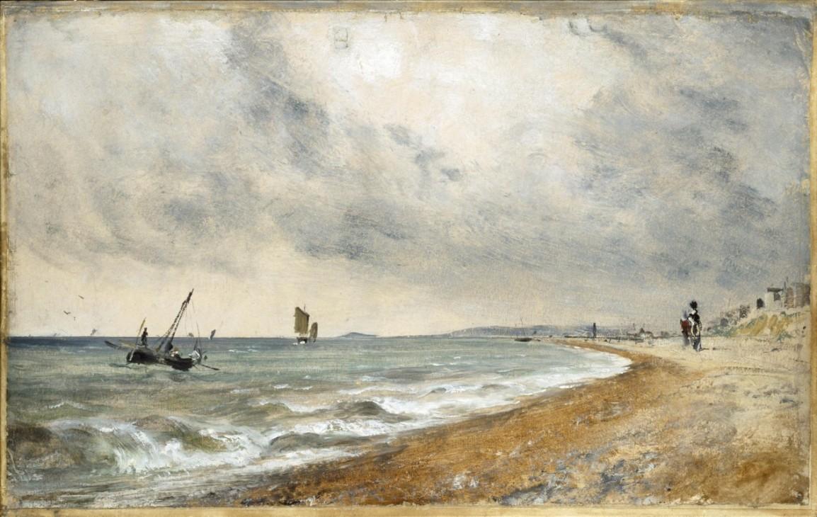 【圖4】John Constable, Hove Beach, with Fishing Boats
