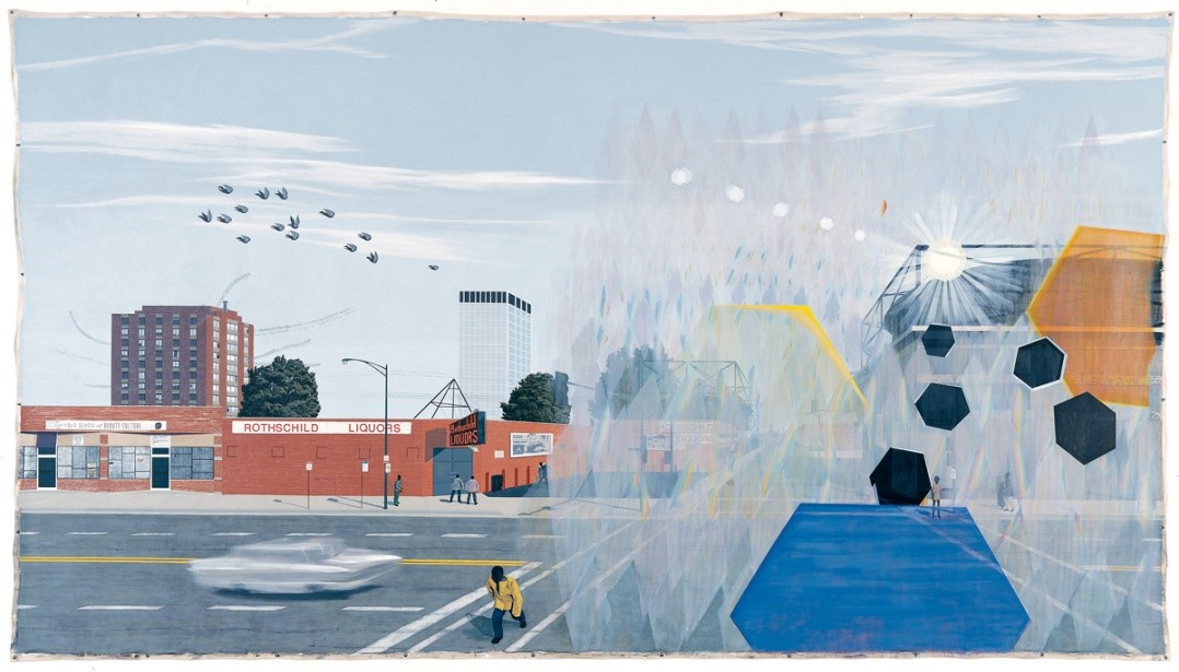 Kerry James Marshall, 7am Sunday Morning, 2003.