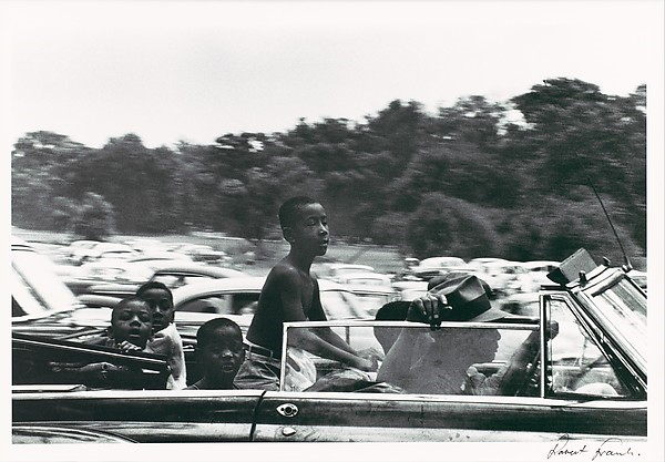 Robert Frank, Belle Isle, Detroit, from The Americans, 1955.