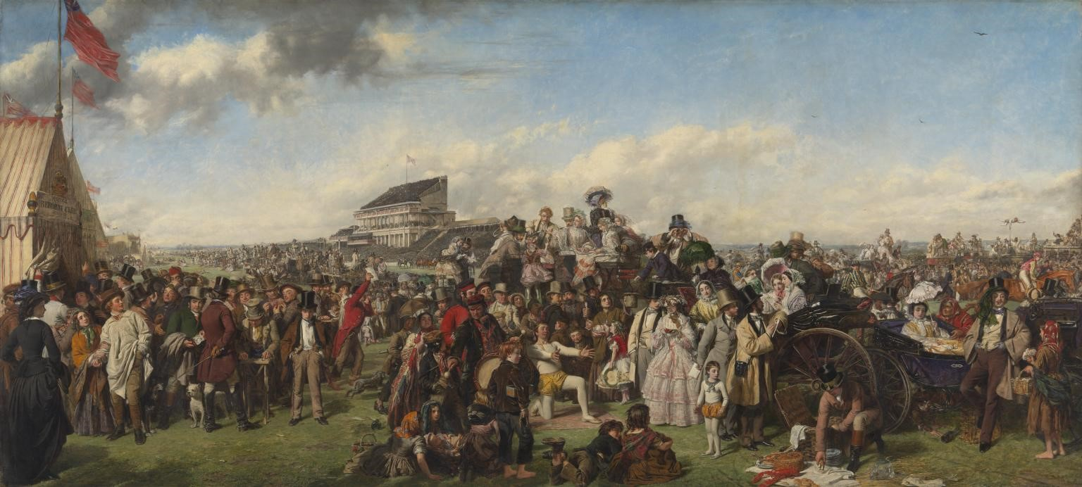 William Powell Frith, The Derby Day