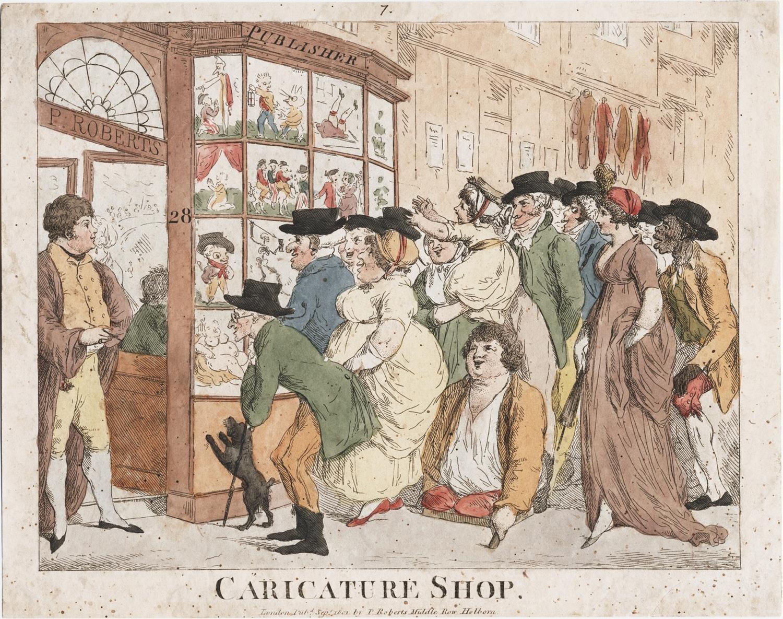 【圖 5】《漫畫店》(Caricature Shop)