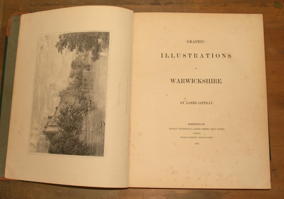 【圖2】Jaffray James, Graphic illustrations of Warwickshire (Birmingham,1862)