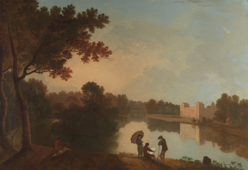 【圖2】Richard Wilson, Wilton House from the Southeast