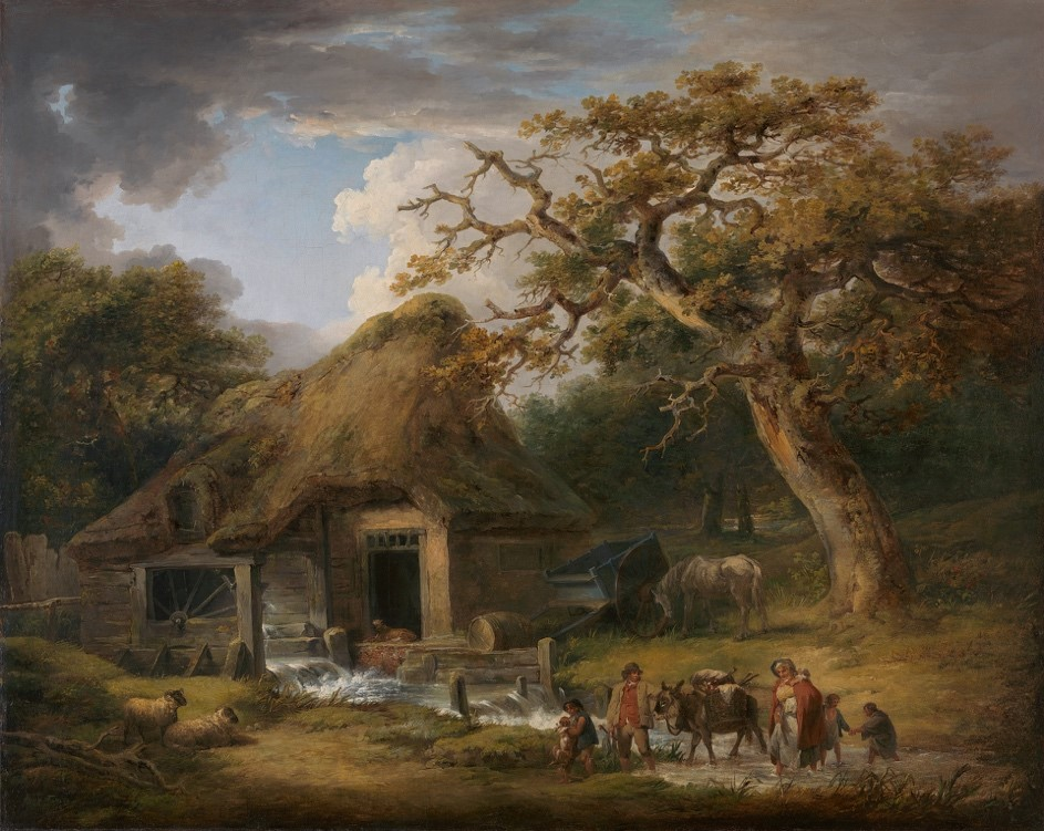 【圖3】George Morland, The Old Water Mill