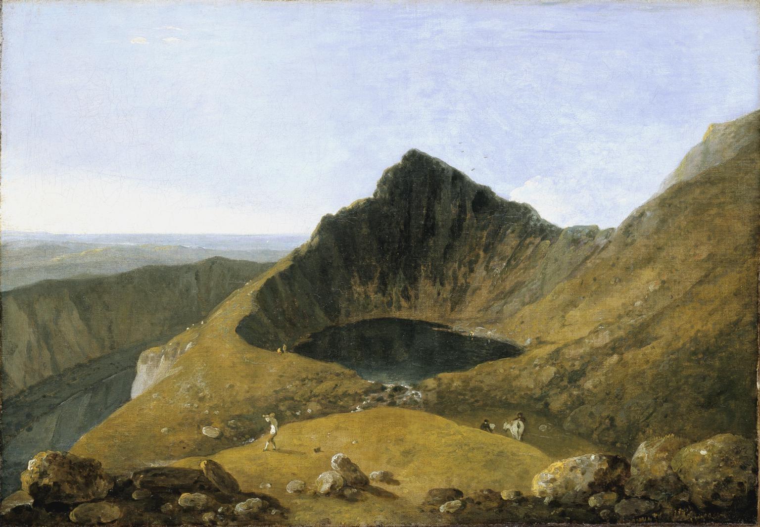 【圖4】Richard Wilson, Llyn-y-Cau, Cader Idris