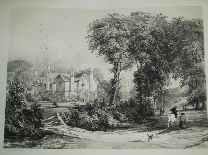 【圖5】 Charles Radclyffe, 《Perry Barr Hall的景觀》 (Views of Perry Barr Hall, the Seat of John Gough, Esq.)