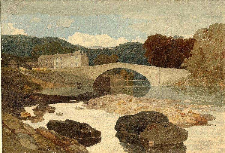 【圖8】John Sell Cotman, Greta Bridge (Durham, England)