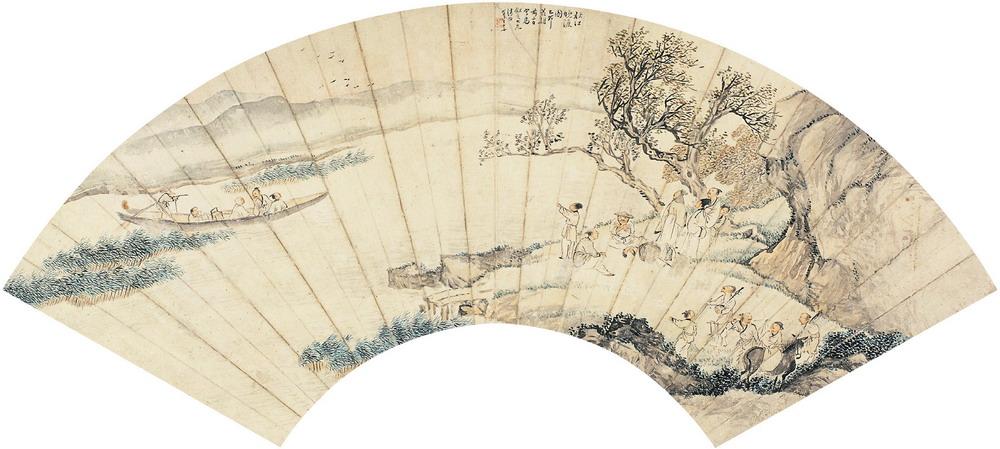 秋江晚渡:藝術家王素逃難記