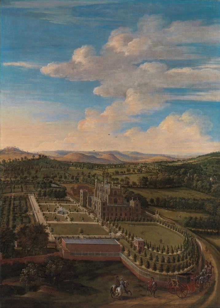 Jan Siberechts (1627-1703), Wollaton Hall and Park, Nottinghamshire