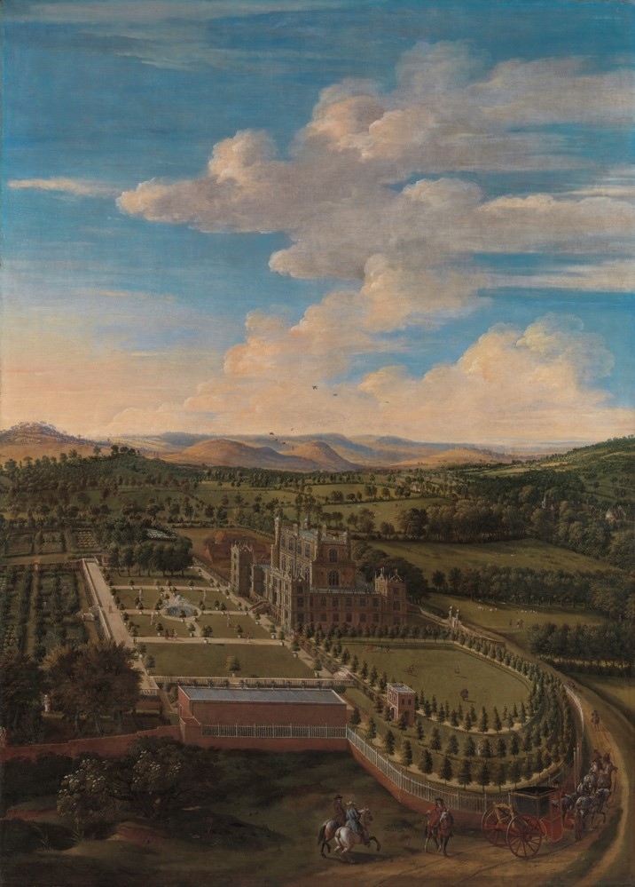 Jan Siberechts (1627-1703), Wollaton Hall and Park, Nottinghamshire
