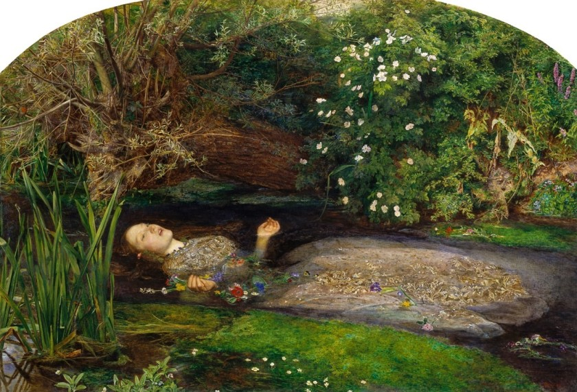 【圖1】John Everett Millais