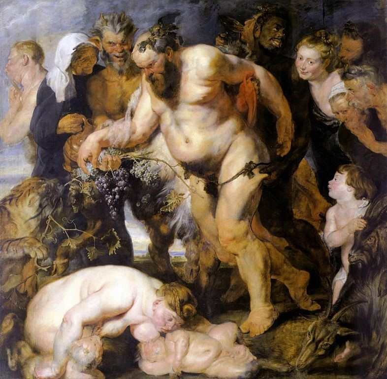 【圖3】Peter Paul Rubens, The Drunken Silenus,