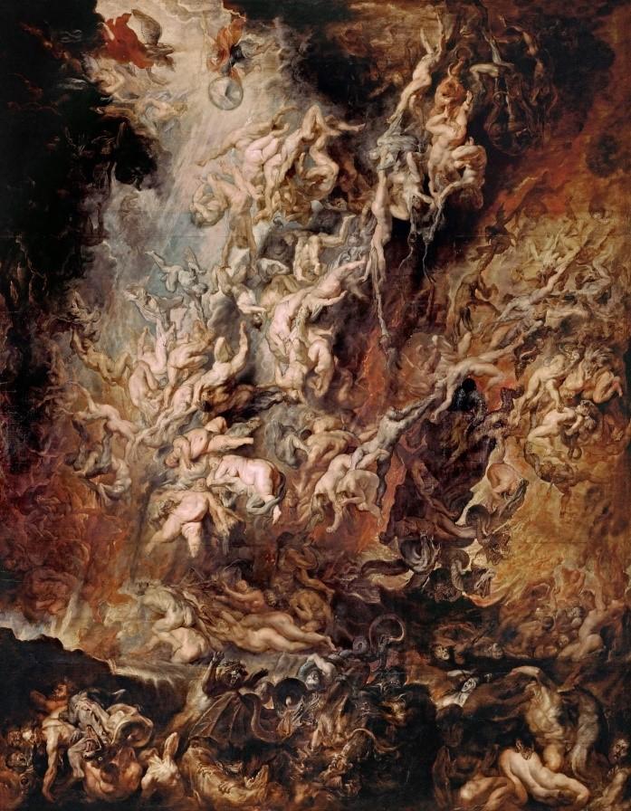 【圖5-1】Peter Paul Rubens, The Fall of the Damned