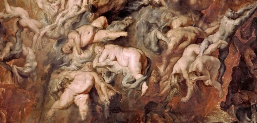 【圖5-2】Peter Paul Rubens, The Fall of the Damned.