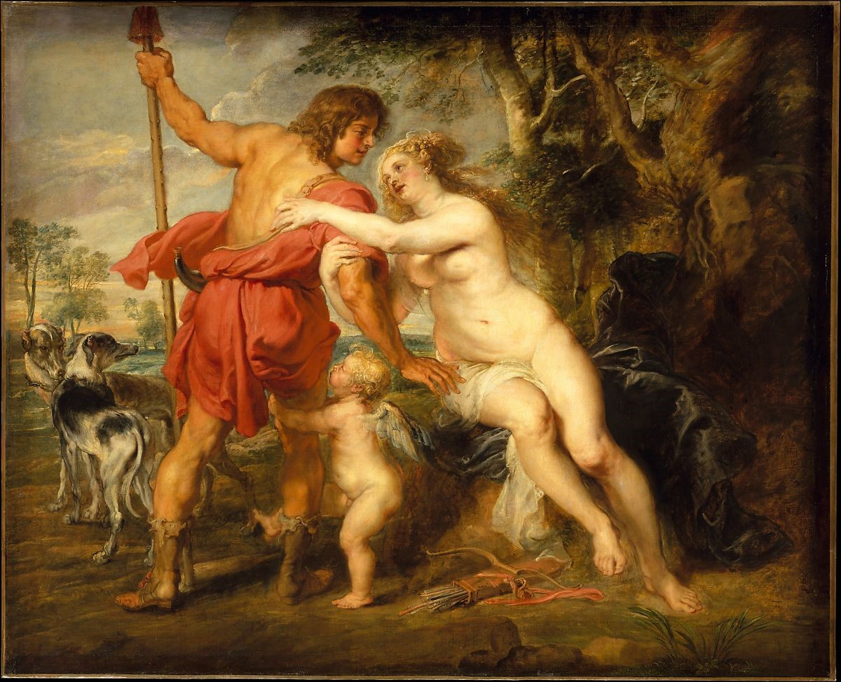 【圖5】Peter Paul Rubens, Venus and Adonis