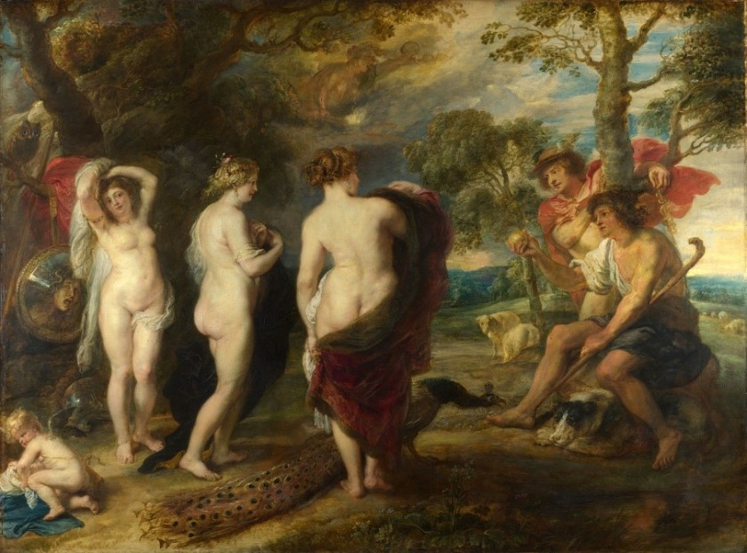【圖6】Peter Paul Reubens, The Judgement of Paris