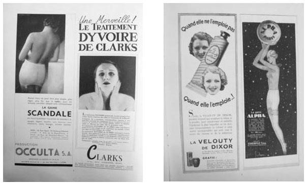 【圖7】Votre Beauté, advertisements