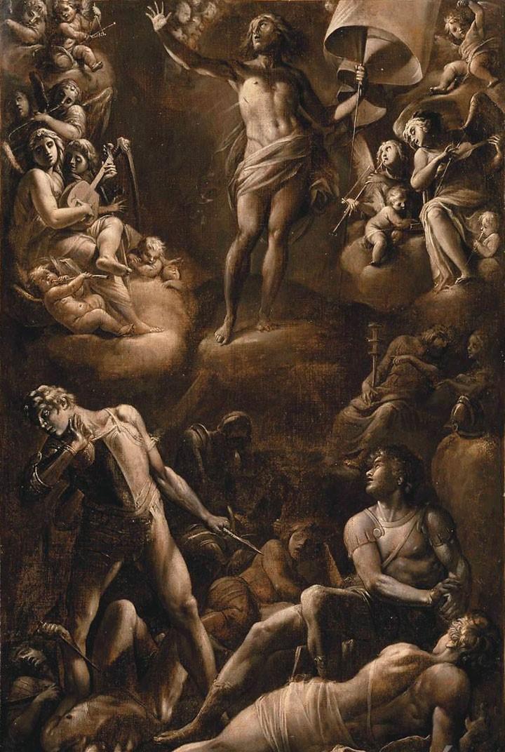 巴里歐內,《耶穌復活》