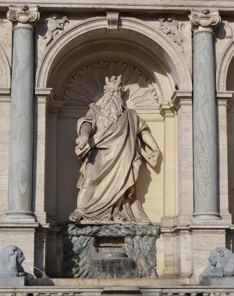 布雷西亞諾,《摩西雕像》