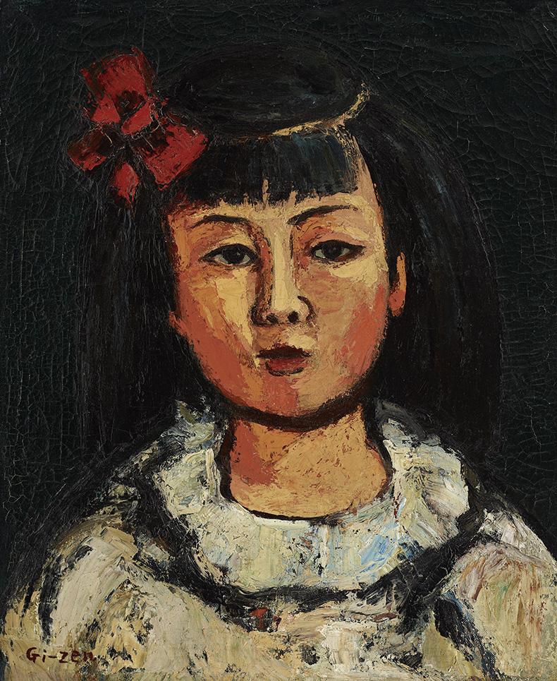 呂基正_少女小玟_1964