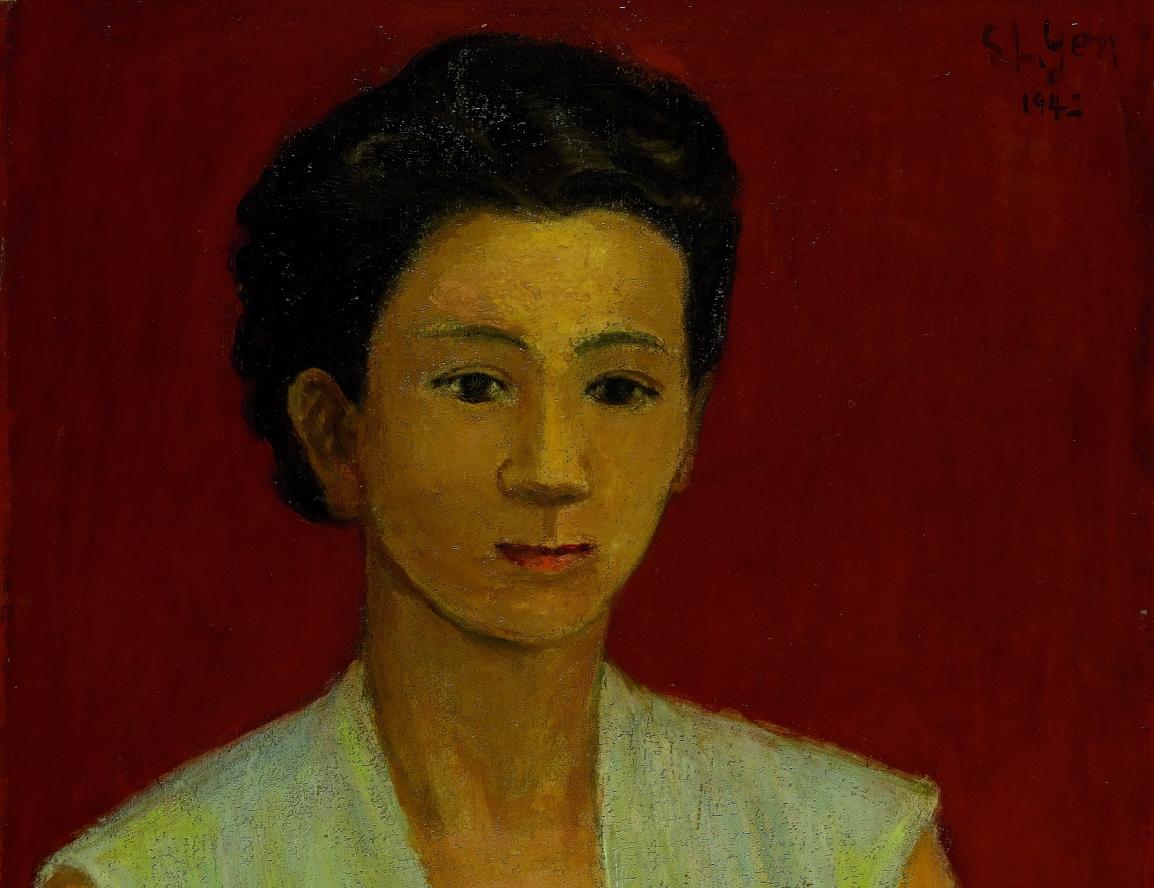 【不朽的青春】前世的情人,今世的妻子──台灣現代美術中的女性畫像