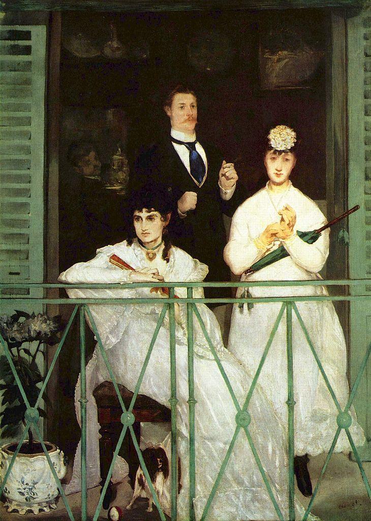 Fig1 Manet Balcon 1869